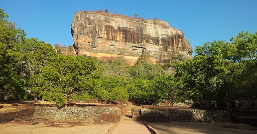 The Lion Rock at Sigiriya, SriLanka